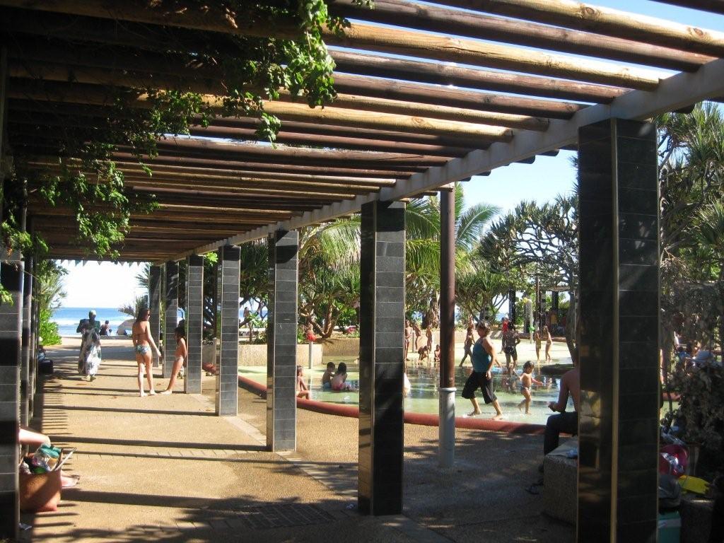 Accès à la plage public