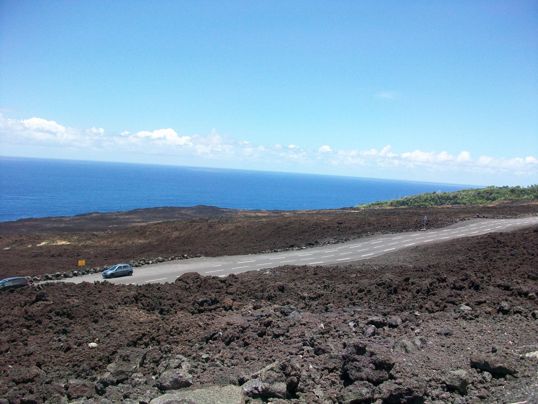 Coulées volcaniques