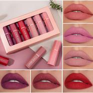 Matte Velvet Lipstick (6Pcs)