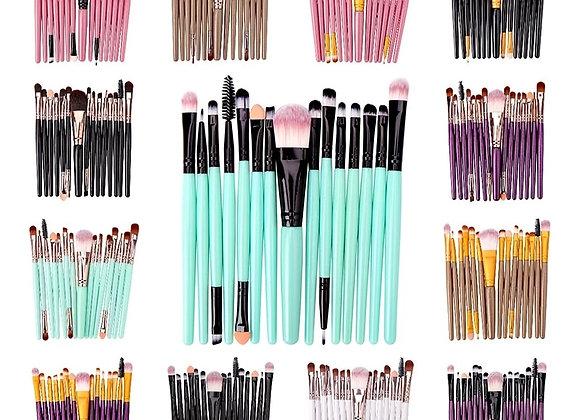 6/15PCs Makeup Brush Set