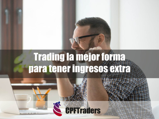 Trading la mejor forma para tener ingresos extras.