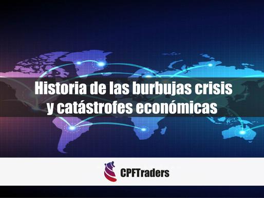 Breve historia de burbujas, crisis y catástrofes económicas