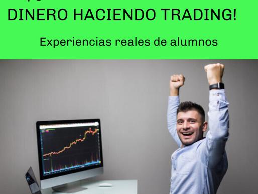 Quiero ganar mucho dinero haciendo trading