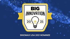 SINOMAX® USA Nominated for the BIG INNOVATIONS AWARD