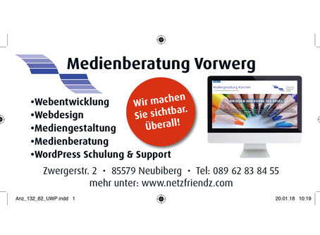 MEDIENBERATUNG VORWERG Consulting•Producing•Design