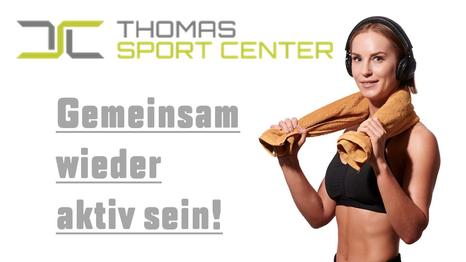 Thomas Sport Center10-er Karten für 125 € statt 155 € bzw.10-er Karten Kurse für 99 € statt 129 €