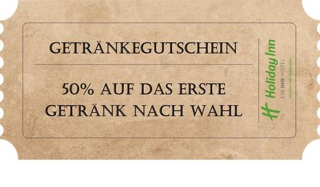 Holiday Inn Munich-Unterhaching - 50 % auf Getränk Ihrer Wahl