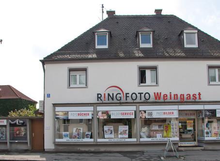 RING FOTO Weingast - Wir sind für Euch da – mit tollen Ideen