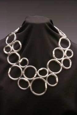 Vinyl Tube Necklace