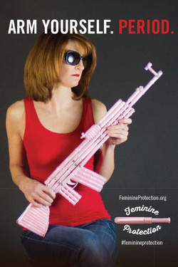 Gun Ad? Tampon Ad? - 1