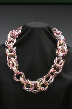Byzantine Vinyl Necklace