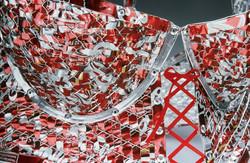 Red Hot Trashy Lingerie Detail