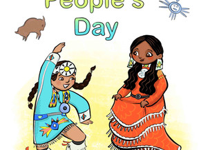 Indigenous Peoples' Day Illustration!