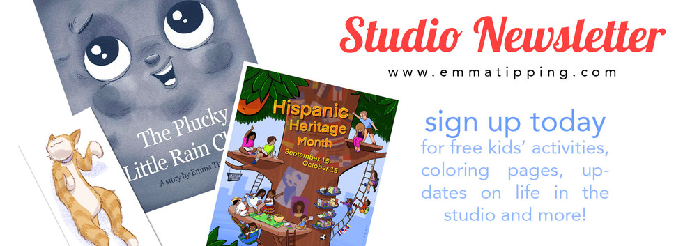 Sign up for my Studio Newsletter today!