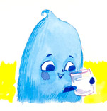 Baboo likes milk 1.