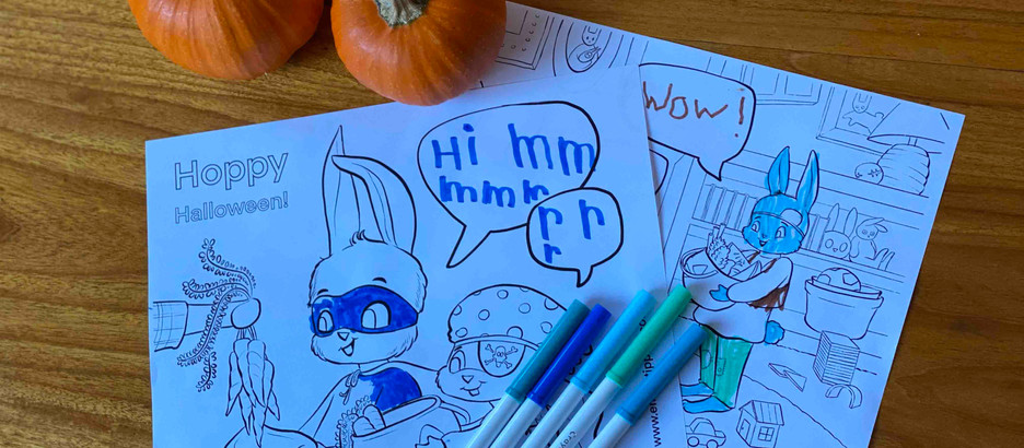 Get your FREE Halloween coloring pages!