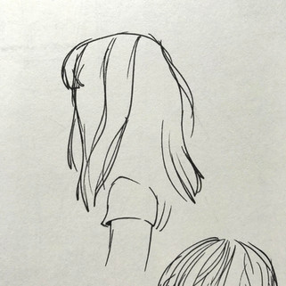 Piano Class Hair study