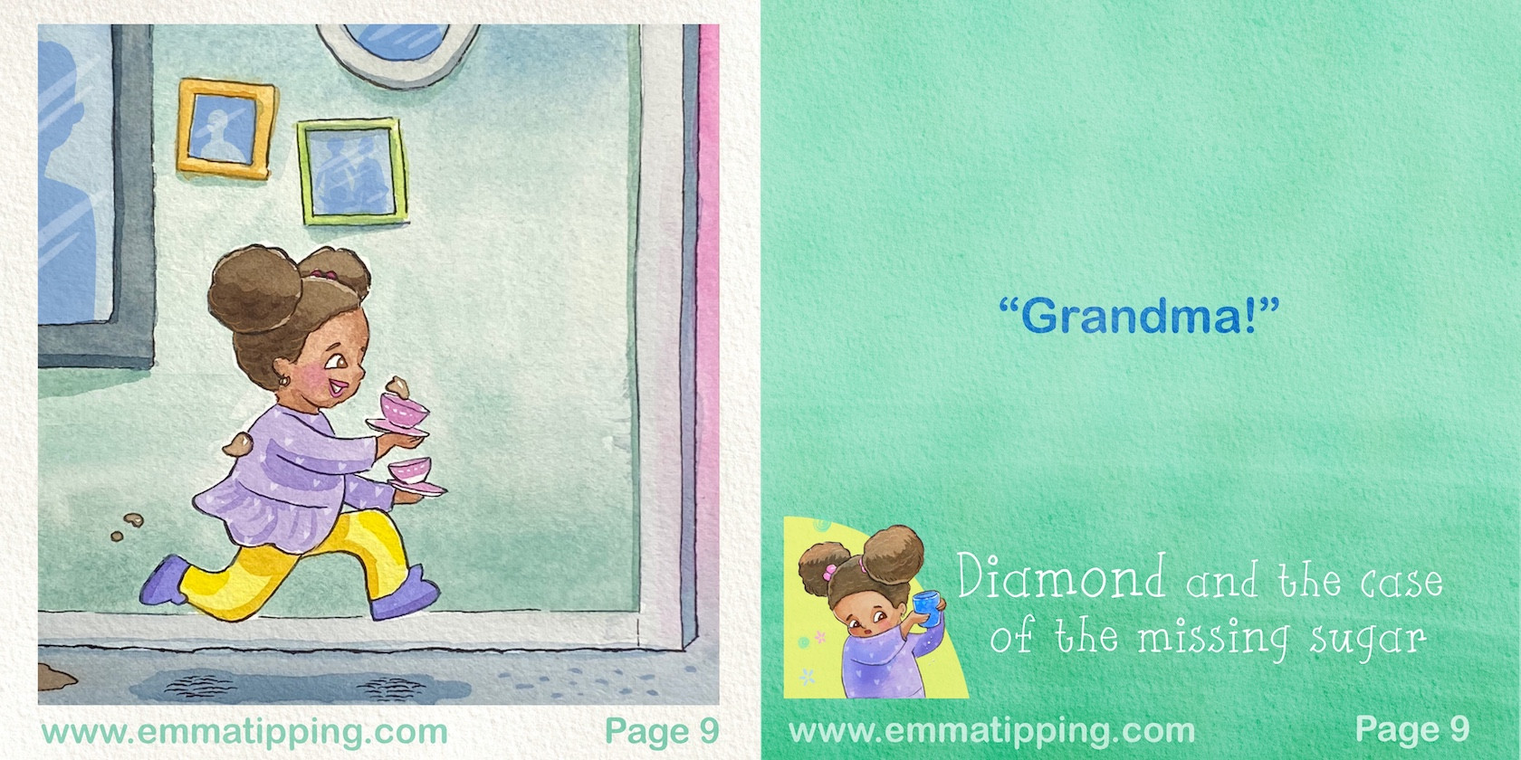 Diamond and the Missing Sugar