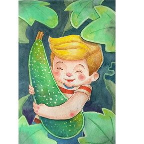 Zucchini Boy