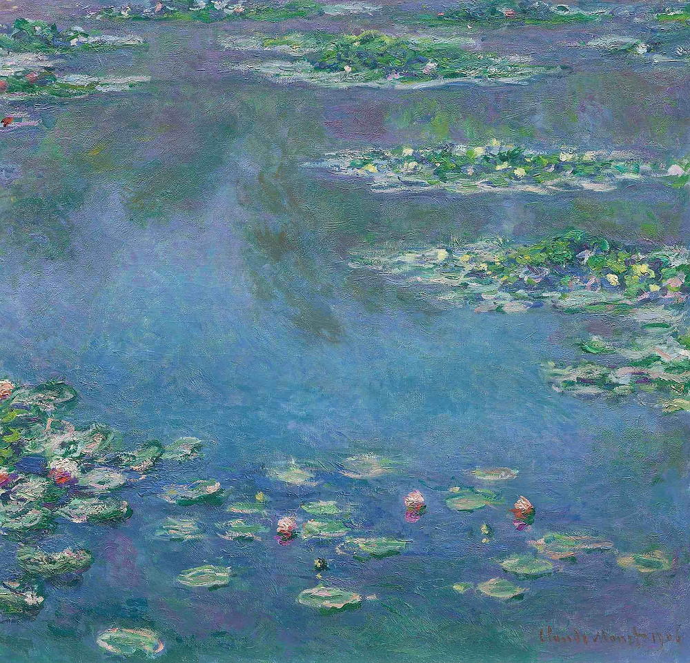 """Image of Claude Monet's painting """"water lilies"""""""