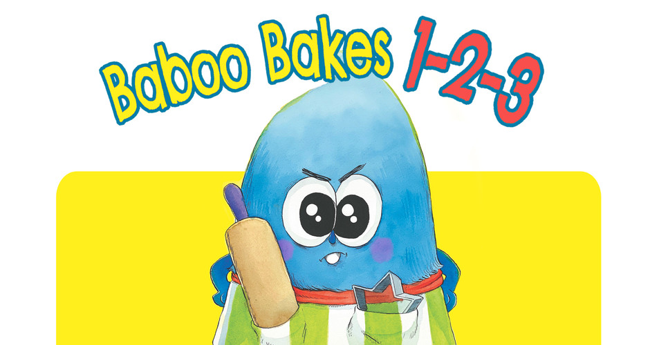 Baboo Bakes 1-2-3 (inquire for Dummy Book)
