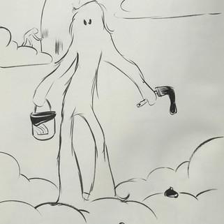 Cloudmen sketch