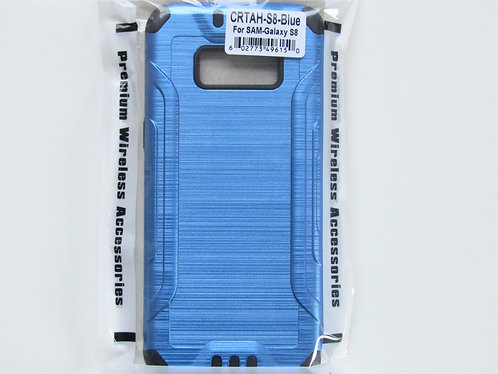 Slim Armor Brushed Metal Design (Blue) samsung 8