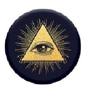 Mobile Phone Holder (Illuminati)