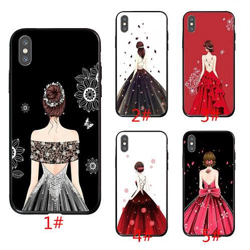 Hot Selling Girl in Dress Phone Case