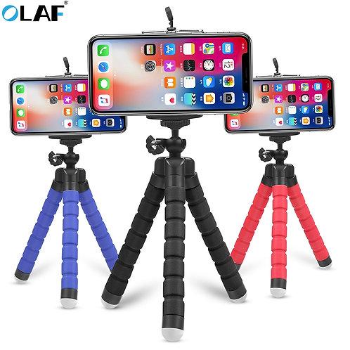 Flexible Tripod Phone Holder phone