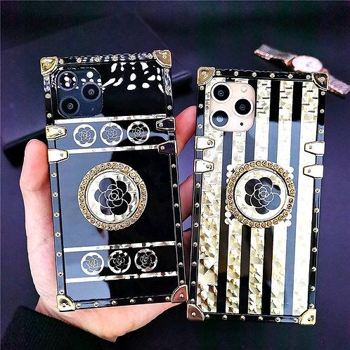 Luxury Glitter Flower Samsung Note 20 10 S21 S20 Plus S10 S9 A71 A50 A70 A31