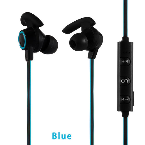 Wireless Earphones  (Blue/Black)