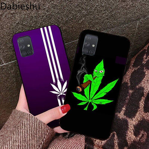 Abstractionism Art High Weed Coque Shell