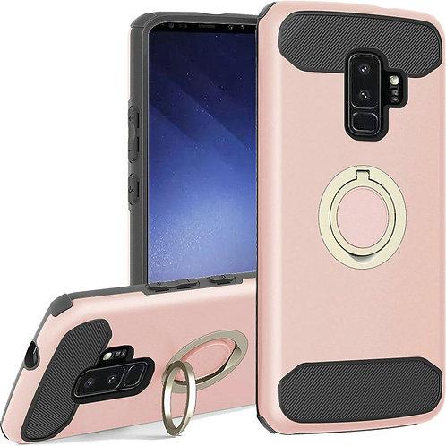 Samsung S9 Plus Ring Case (Rose Gold)