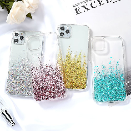 Bling Glitter Case for iPhone Cases Luxury Silicone Cover