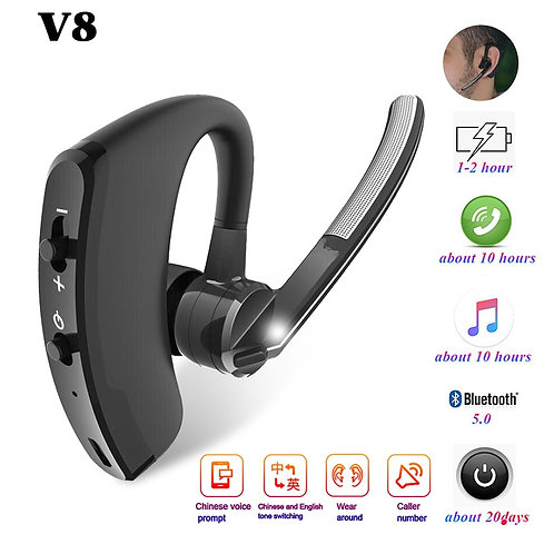 Bluetooth Handsfree Earphone Wireless Stereo Mic