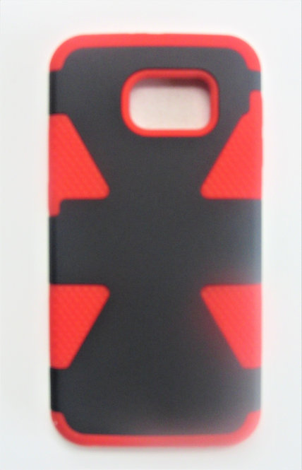 Grip Case  Galaxy 6 (Red/Black)