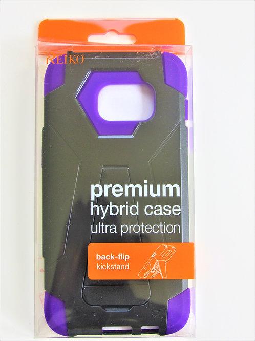 PremiumHybrid Case (Purple/Black)