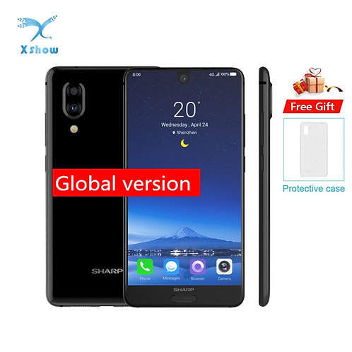 Original SHARP AQUOS C10 S2 Smartphone 4GB+64GB Face ID 5.5''