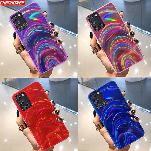 Rainbow Mirror Soft Case for Samsung Galaxy