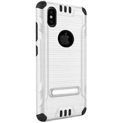 Tech Shockproof Case (White) Fits Iphone X