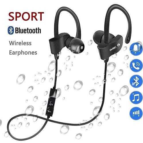 Sport Bluetooth Earphones (Black)