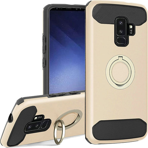 Samsung S9 Plus Ring Case (Gold)
