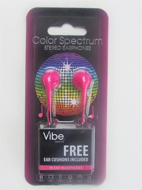 Vibe Sound In-Ear Earphones (Pink)