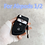 Thumbnail: Cute Car Key Case for Apple Airpods Pro Cover Silicone Earphone Case for Airpod