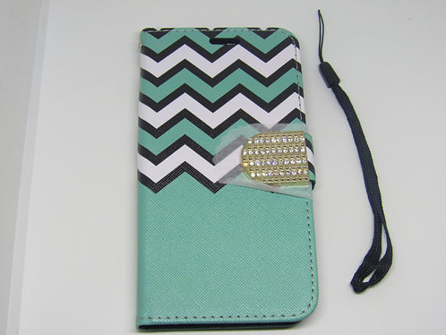 Aztec Wallet Case Cover (Teal)