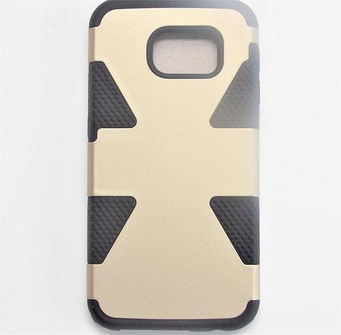 Slim Armor Snap on Case Gold/Black Galaxy 6