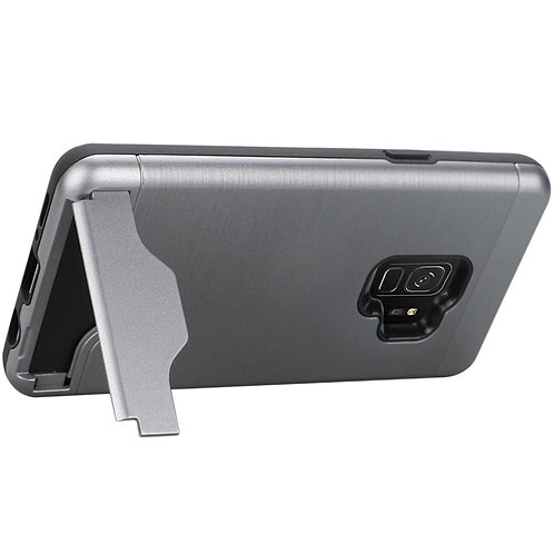 Samsung 9 Card Holder/Kickstand Case (Grey)