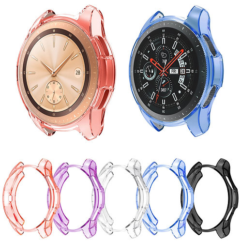 Soft TPU Protective Case Cover Shell for Samsung Galaxy Watch 46mm 42mm