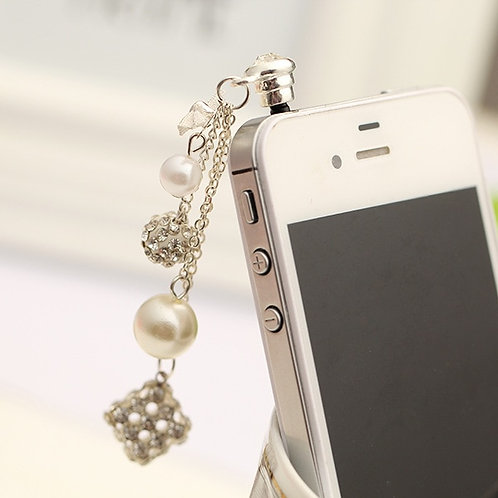 Fashion Style Pendant Dust Plug  for All 3.5 Mm phone
